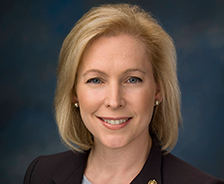 Photo of U.S. Senator Kirsten Gillibrand